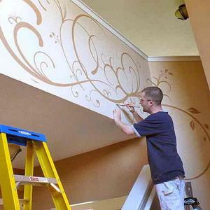 Декоративные фрески в современном интерьере