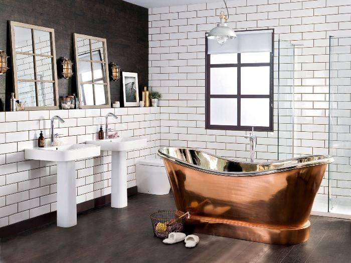 Как сделать вид ванной более свежим и современным