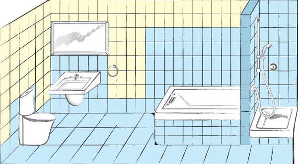 Правильная гидроизоляция пола в ванной комнате