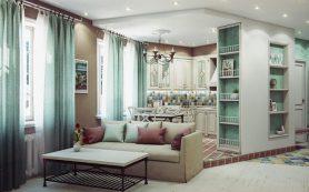 Выбор интерьера квартиры в стиле прованс