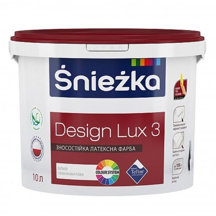 Глубоко матовая латексная краска для интерьеров — Sniezka DESIGN LUX