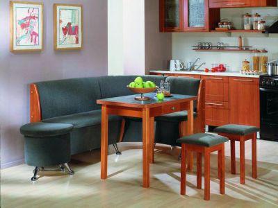 Мягкий уголок в дизайне кухни
