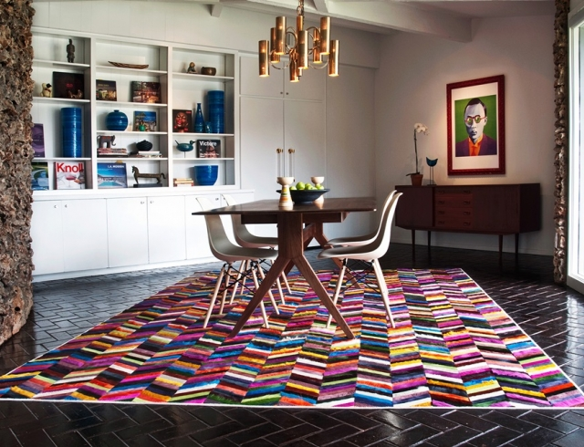 Дизайнерский ковер на пол: новый взгляд на оформление комнаты