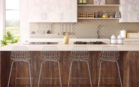 Стильные аксессуары в интерьере кухни