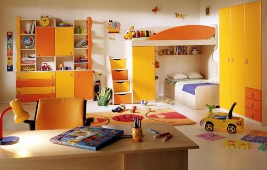 Комната для ребенка в скандинавском стиле