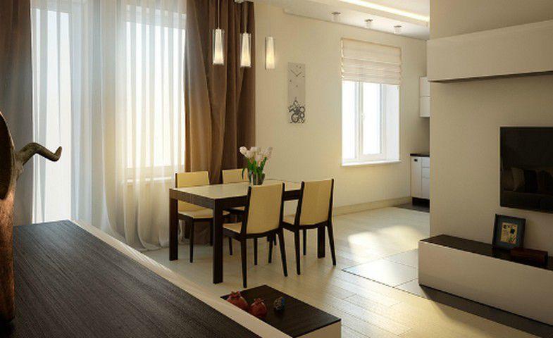Перепланировка коммунальной и типовой квартиры