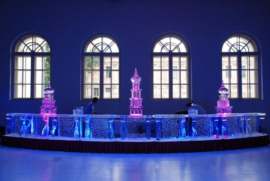 Ледяные скульптуры для интерьера