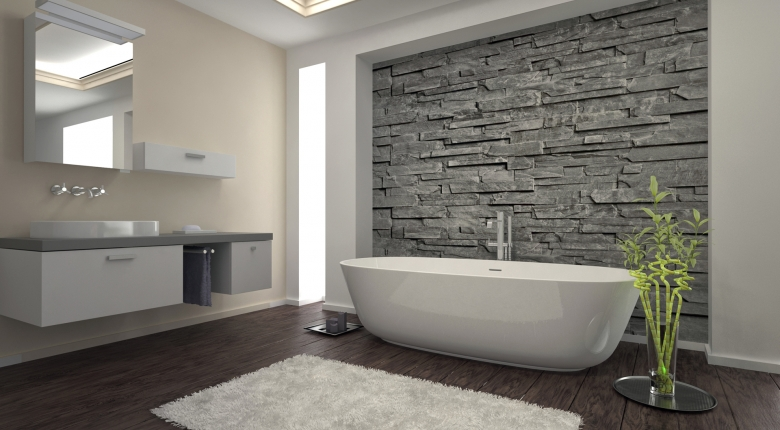 Романтичный стиль прованс для ванной комнаты