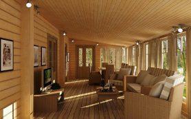 Как красиво оформить террасу в доме?