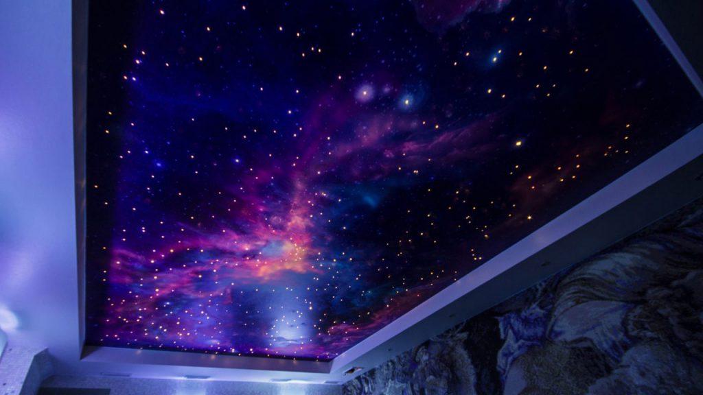 Звездный потолок в вашей квартире