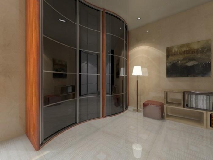 Радиусные шкафы: особенности изготовления и характеристики