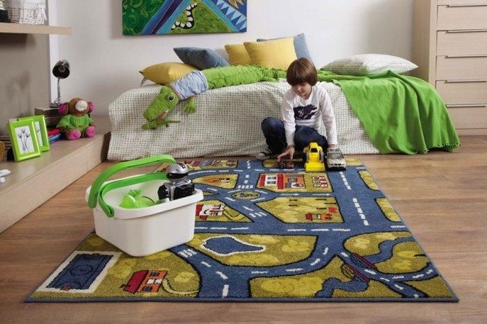 Напольные покрытия для детских комнат