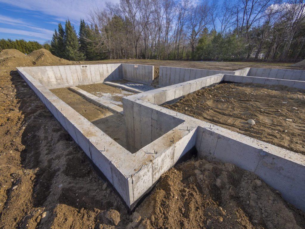 Оценка стоимости строительства фундамента