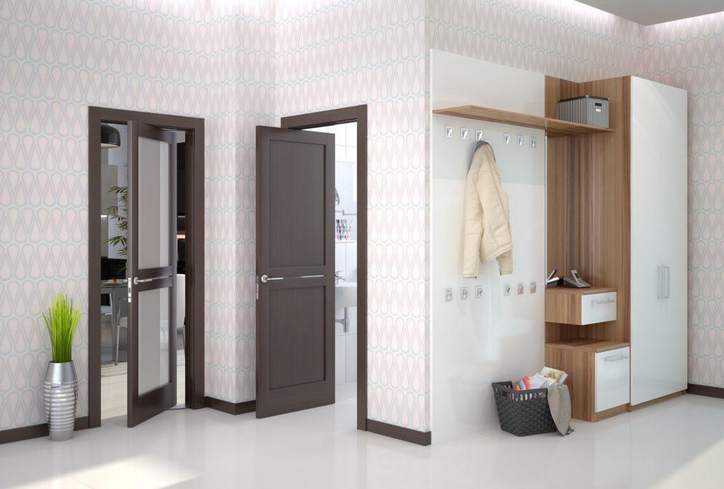 Поворотные двери – оригинальный и современный выбор