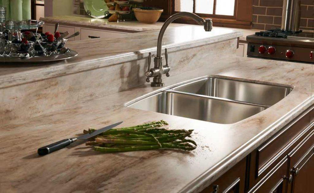 Столешницы из искусственного камня для кухни