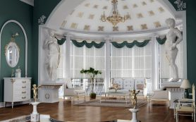 Римский стиль в домашнем интерьере — классическая роскошь