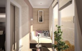Оригинальные идеи дизайна балкона
