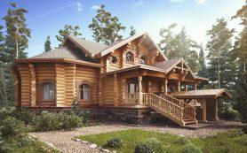 Деревянные дома. Проекты двухэтажных домов.