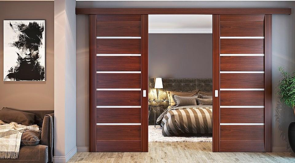 Выбираем межкомнатную дверь по материалу, типу конструкции и звукоизоляционным свойствам