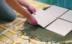 Укладка напольной керамической плитки самостоятельно