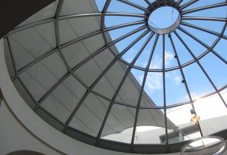 Достоинства светопрозрачных конструкций из алюминия