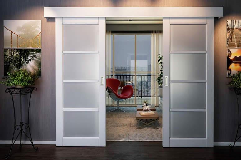 Раздвижные межкомнатные двери
