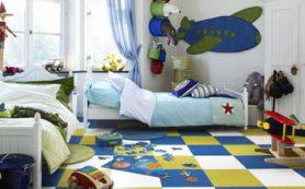 Выбираем напольное покрытие в детскую комнату
