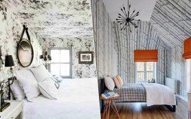 Обои на потолке: идеи, которые вы захотите повторить