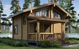 Бани из бруса – особенности и преимущества деревянных бань