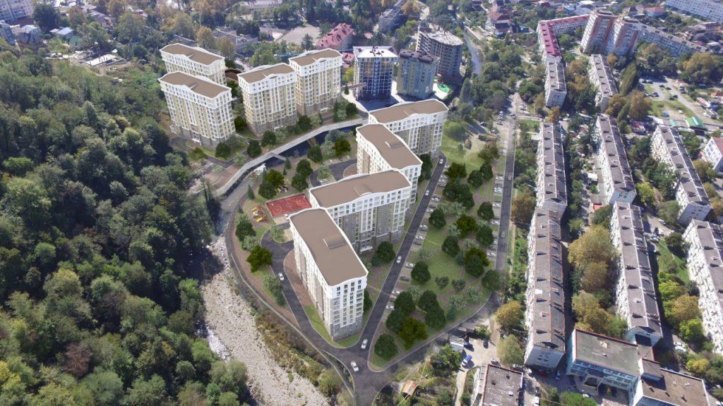 Качественное жилье по доступным ценам в Сочи: жилой комплекс «Кватро»