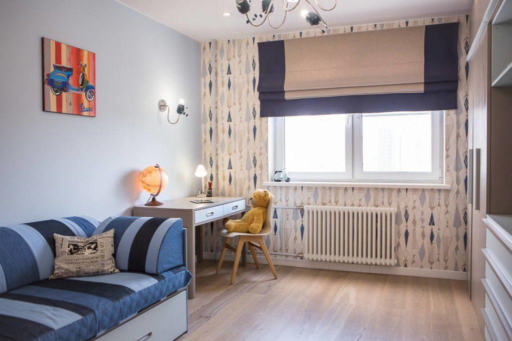 Римские шторы в интерьере квартиры
