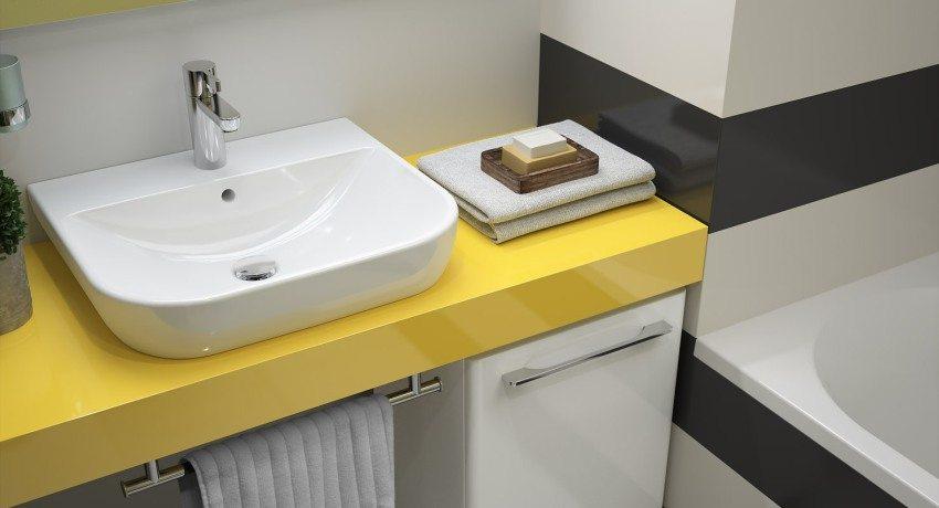 Раковина для ванны накладная на столешницу: стиль и практичность использования