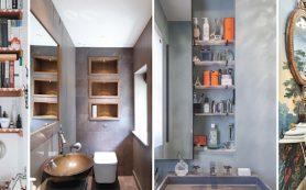 Отличные идеи для крошечных туалетов