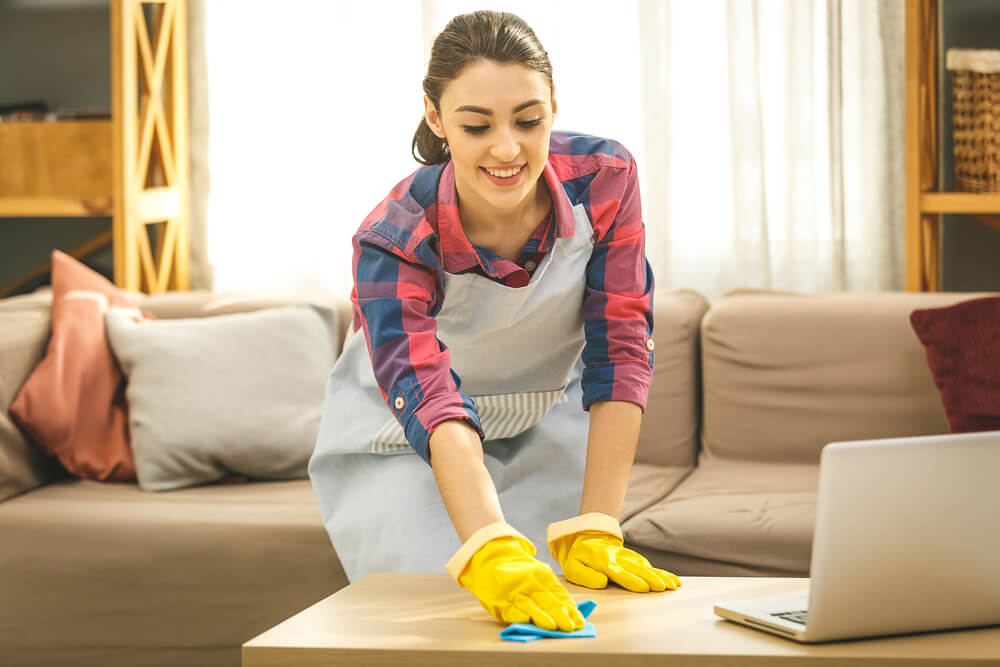 Как регулярно поддерживать чистоту и порядок в помещении?