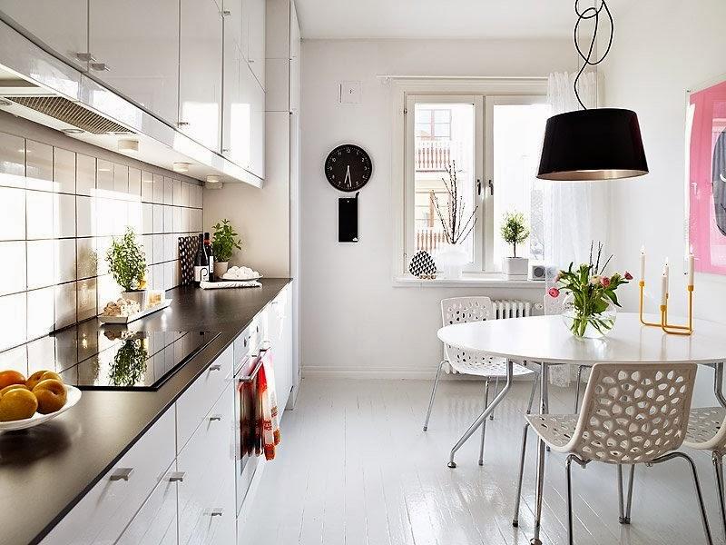 Кухня в скандинавском стиле: новинки оборудования и особенности планировки