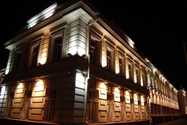 Использование архитектурной подсветки
