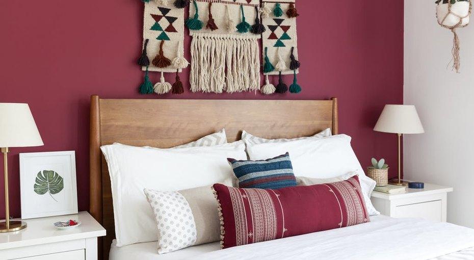 Что повесить над кроватью:замечательные идеи