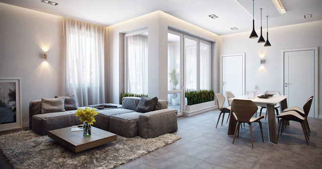 Дизайн квартиры – какие есть стили, интересные идеи для обустройства разных комнат