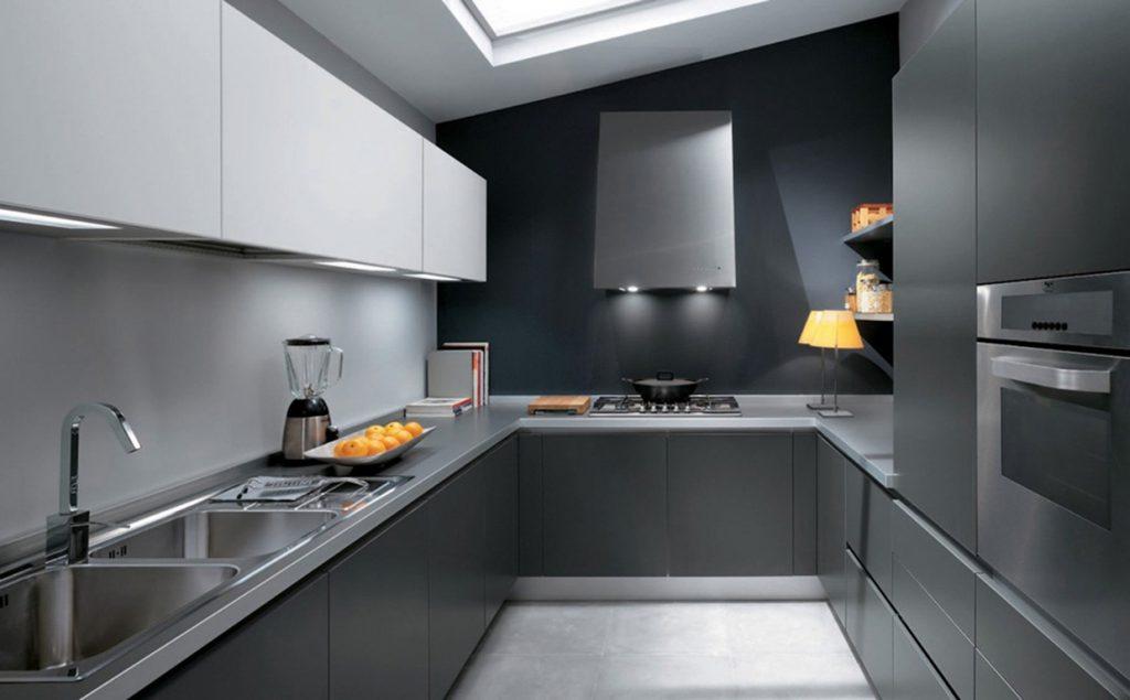 Как выглядит кухня в стиле модерн?