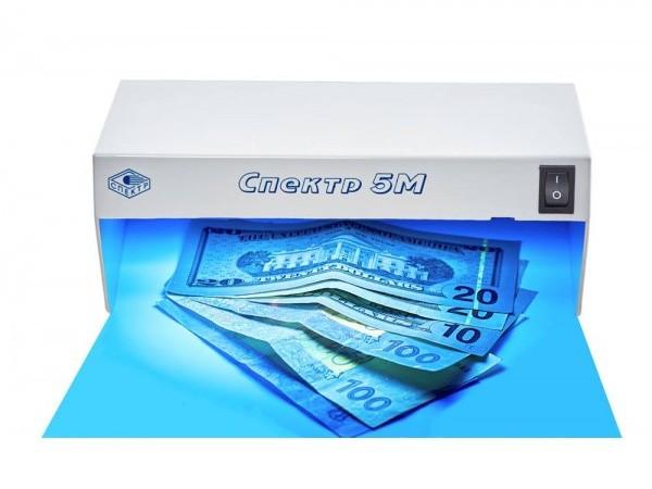 Детектор денег Спектр: лучшие аппараты для обработки валюты