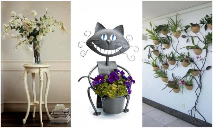Как сделать, чтобы живые растения стали главным элементом декора