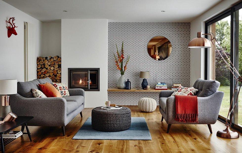 Как разбавить интерьер элементами стиля mid-century