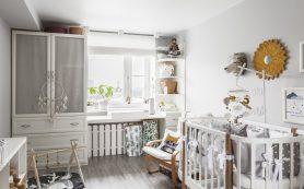 Квартира с двухуровневой детской