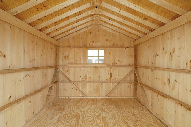 Свойства деревянного пола для гаража