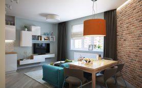 Интересные дизайны квартир и домов от студии «АНТЭЙ»