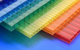 Применение цветного поликарбоната для строительства теплиц