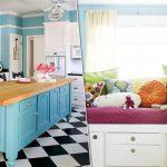 Новая мебель из старых кухонных шкафов