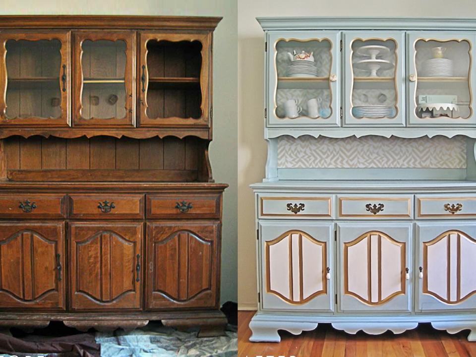 Варианты обновления старой мебели