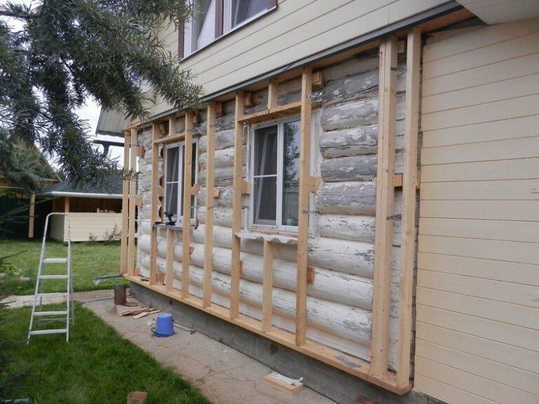 Дополнительное утепление стен деревянного дома