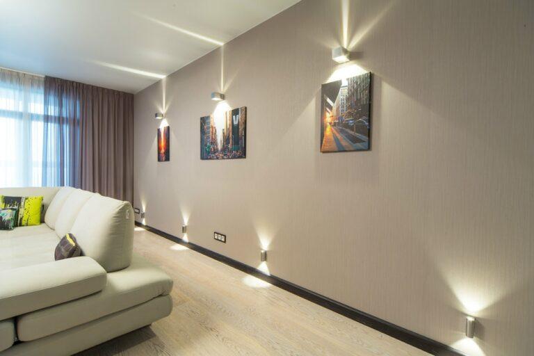 Освещение для гостиной комнаты